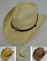 Paper Straw Cowboy Hat [Bull]